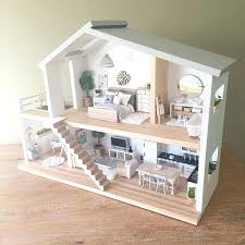 cheap wooden dollhouse furniture. Hi Rise Dollhouse Kids Furniture Heirloom Dollhouses Bespoke Bedding And Decor All Wooden Set Cheap