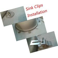 Hetai Hetai Kitchen Sinks Clips Epoxy Sink Clip Kits Undermount