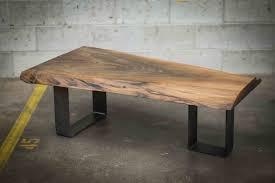coffee table live edge black walnut coffee table live edge coffee table for