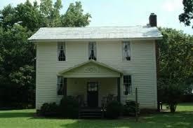 John and Polly Garrett House Historical Marker