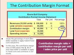 Formate Of Income Statement Contribution Margin Income Statement