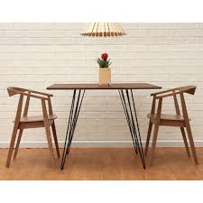 small dining furniture. Mesmerizing Small Rectangular Dining Tables On Furniture Brown Polished Wooden Table With