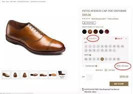 Allen Edmonds Width Size Chart What Tips Do You Use In Ordering The Right Size Of Shoes And