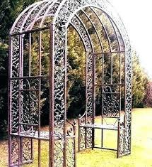 classy home depot garden arch