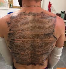 Eines Der Krassesten Fan Tattoos Stammt Aktuell Von Einem Kontra K