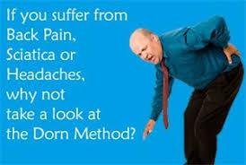 Dorn Method Chart Holistic Health Clinic Kendal The Dorn Method