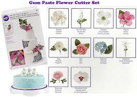 wilton gum paste flower cutter set 1set
