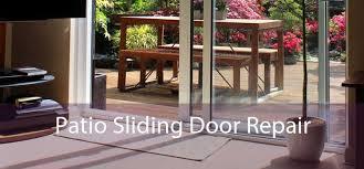 patio sliding door track roller repair