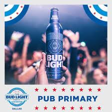 Bud Light Party Dallas Bud Light Party Convention Pub Primaries Are In Dallas