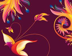 Mikhail Puzakov's portfolio - Paradise <b>Flower</b>-<b>Birds</b>