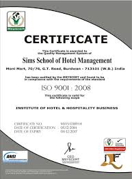 sims school of hotel management