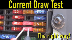 How To Test For Battery Drain With A Test Light The Best Way To Perform A Parasitic Draw Test