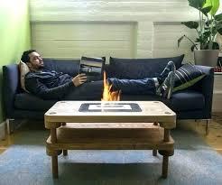 fire coffee table coffee table fire pit coffee table fire pit combination uk