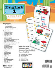 Phonics Generalizations Chart English 1 Visuals Homeschool Flip Chart 3rd Ed Bju Press