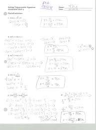 sweet mrs belcher acc math 3 solving trig equations practice p