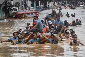 disaster hits the philippines