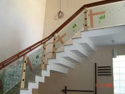 Nice Glass Staircase Design Modern Staircase Of Wood And Glass Railings