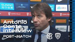 INTER 4-1 CAGLIARI | ANTONIO CONTE EXCLUSIVE INTERVIEW: