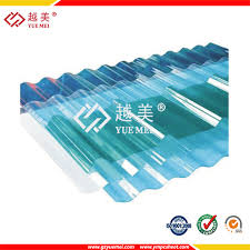 china clear and colored plastic corrugated polycarbonate roofing sheet for greenhouse china corrugated polycarbonate roofing color corrugated plastic