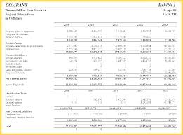 Pro Forma Cash Flow Projections Simple 3 Year Cash Flow Projection Template Income Excel