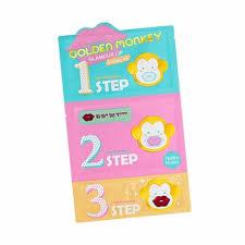 HOLIKA <b>HOLIKA Golden Monkey Glamour</b> Lip 3-Step Kit