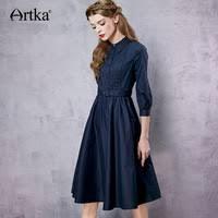 <b>Autumn & Winter</b> Dresses - <b>Artka</b> - AliExpress