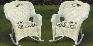 savannah all weather wicker rockers set of 2