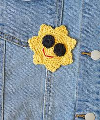 Free Crochet Applique Patterns Interesting Decorating Design