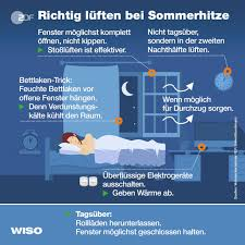 Tipps Gegen Sommerhitze Im Schlafzimmer Zdfmediathek