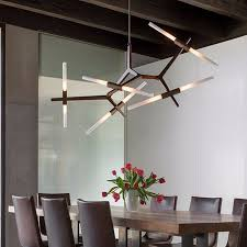 modern minimalist led chandelier light rotatable branch nordic agnes with g9u2026 modern branch chandelier h22