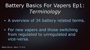 Moochs Video Library And Battery Table Links Vaping