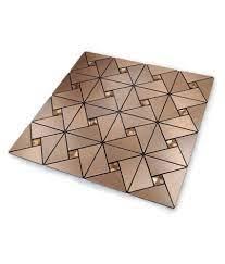 30x30cm Mosaic Aluminum Tile Self ...