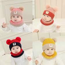 Set mũ len lót lông + khăn choàng Mickey cho bé – Đồ gia dụng Đà Nẵng