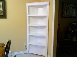 corner shelves living room corner bookcase oak corner bookcase
