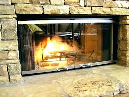 wood stove glass replacement replacing fireplace gas shattered door hardware burner cleaning