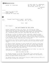 IRS Audit Letter 239C Sample 1a