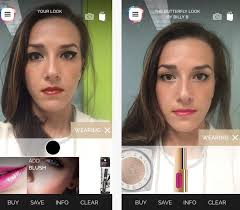 app for android augmented makeup genius