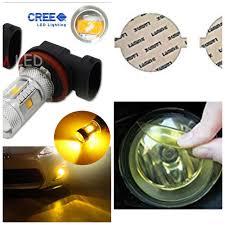 Bright Yellow Led Lights Fog Light Film Covers Vs Yellow Led Bulbs Wrx