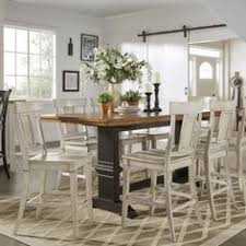 eleanor antique black counter height panel back dining set by inspire q clic