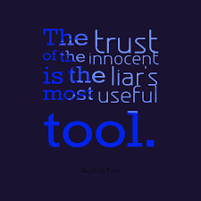 Stephen King Quote About Trust
