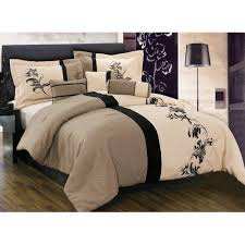 cream beige fl linen comforter set