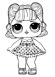 Lole Coloring Pages Pets Colouring Unicorn Angel Dolls Series