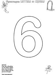 Cijfer 6 Figuurzagen Knutselpaginanl Knutselen Knutselen En