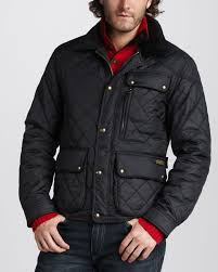 Polo Ralph Lauren Quilted Bomber Jacket in Black for Men (polo ... & Polo Ralph Lauren Quilted Bomber Jacket in Black for Men (polo black) | Lyst Adamdwight.com