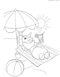 Frozen Olaf Summer Coloring Page Get Coloring Pages