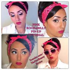 s you watch pink rockabilly pin up makeup tutorial sandy grease