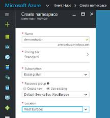 eventhubs how to use the microsoft azure eventhub connector connectivity