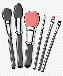 cosmetic vector makeup brush makeup brushes png transpa png