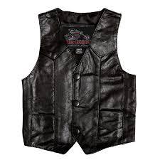 baby leather vest