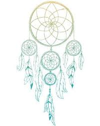 Nice Dream Catchers Enchanting Beautiful Image With Nice Hand Drawn Dream Catcher Royalty Free